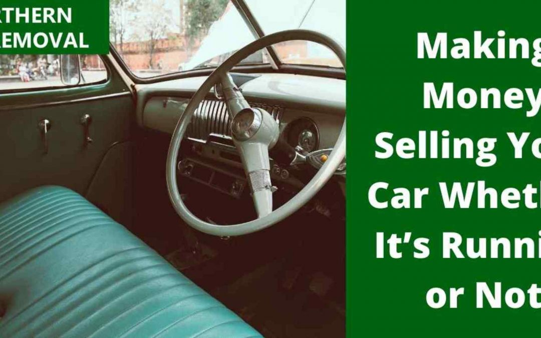 Making Money Selling Your Car Whether It's Running or Not
